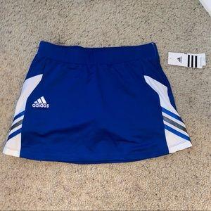 NWT y2k adidas cobalt blue tennis skirt